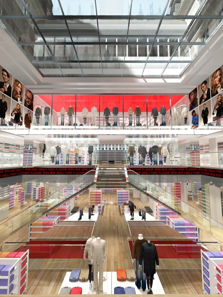 Magasin Uniqlo à Paris Opéra