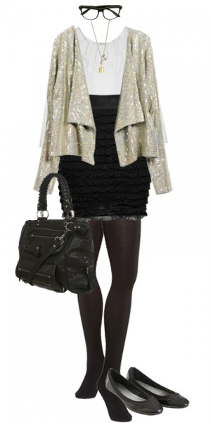 look chic sequins