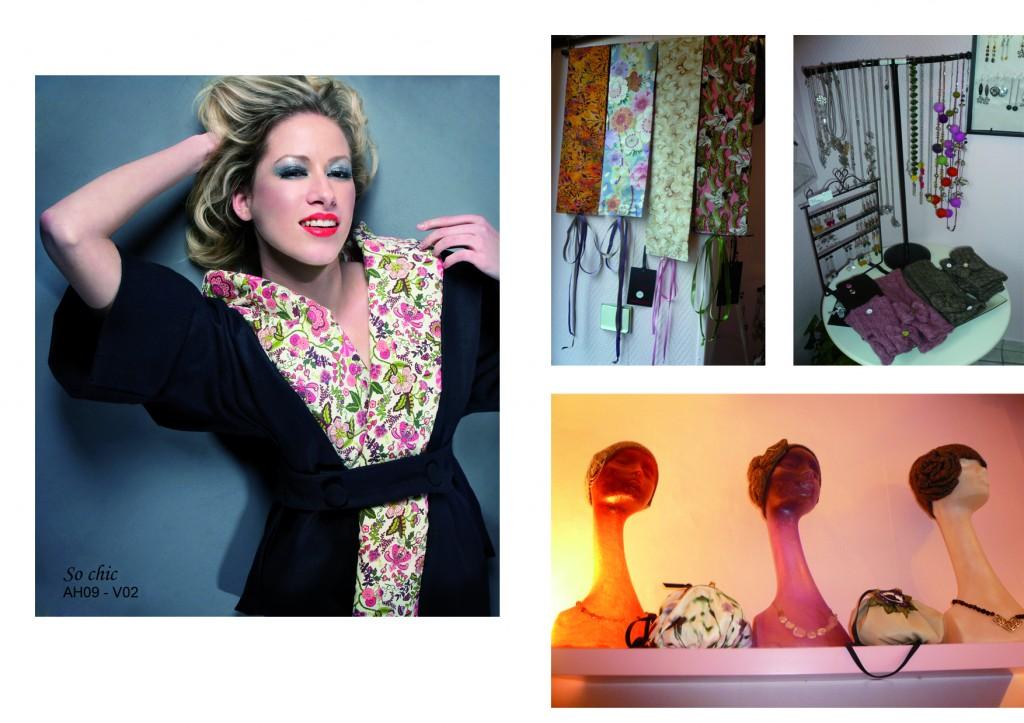 Collection automne-hiver 2009, photos du magasin Les Nguyen