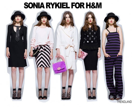 Collection printemps 2010 Sonia Rykiel pour H&M. Source: www.stylistic.fr