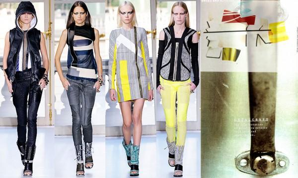 Collection Balenciaga printemps-été 2010. Souces: www.style.com; images View On Colour