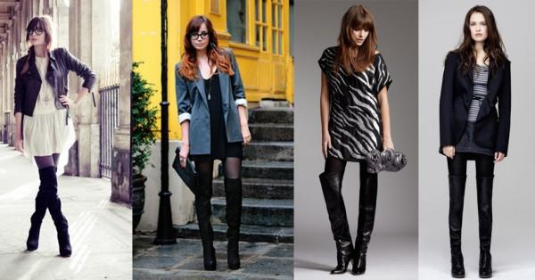 De gauche à droite: Louise.E sur www.lookbook.nu; Look Sinéquanone; Look IKKS