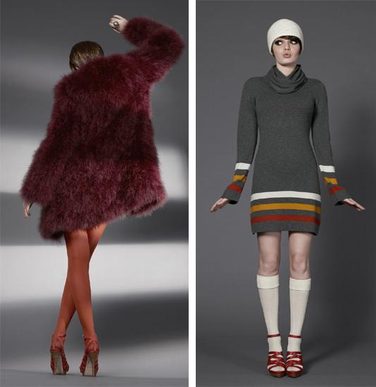 Le retour de Dorothée Bis rue de Sèvres: collection hiver 2009-2010