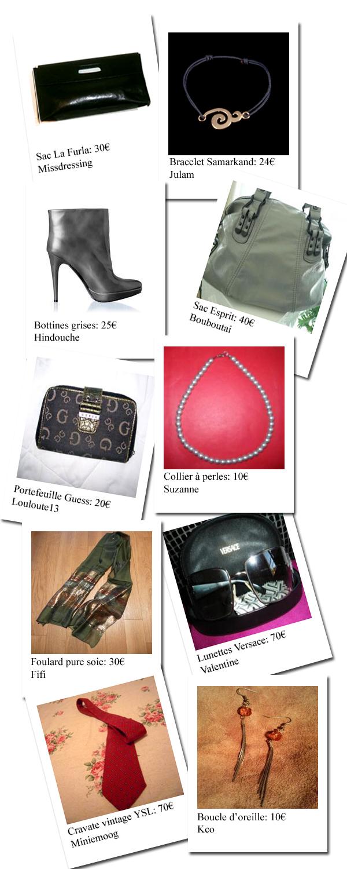 Mon shopping Noël (idées cadeaux) spécial accessoires!