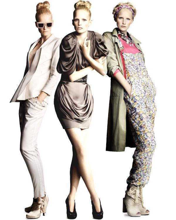 Tendances printemps-été 2010: On fait le tri! Collection été 2010 H&M.