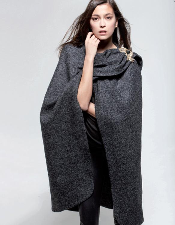 Comment rester glamour par temps froid? Collection automne-hiver 2009 Maje.