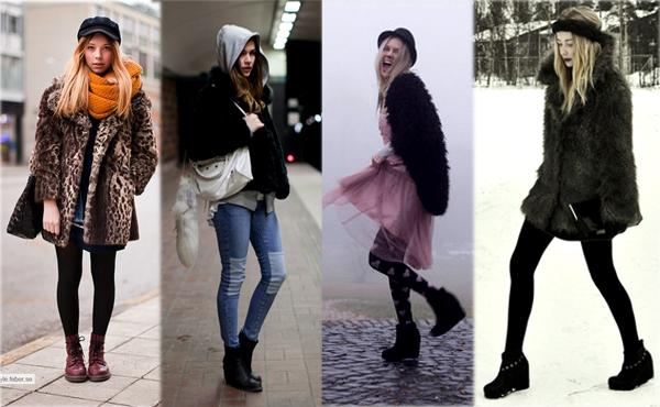 Comment rester glamour par temps froid?