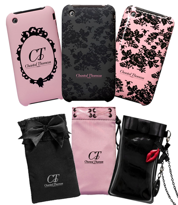 Chantal Thomas habille l'Iphone: les accessoires pour Iphone de Chantal Thomas.