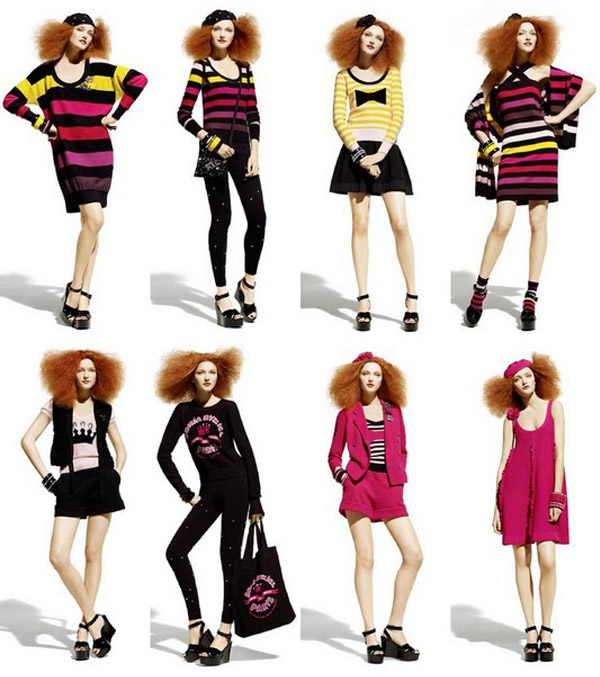 Sonia Rykiel pour H&M!Collection maille.