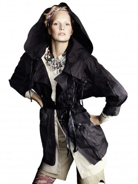 Comment s'habiller les jours de pluie? Look H&M printemps-été 2010