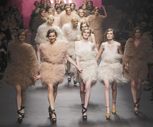 Best of des défilés Fashion Week Hiver 2010. Collection Sonia Rykiel. Source:http://madame.lefigaro.fr