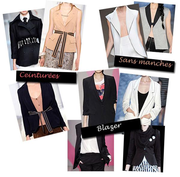 Les vestes tendances été 2010