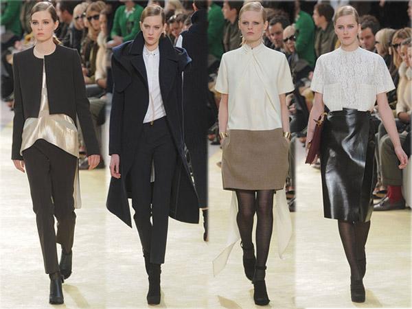 Best of des défilés Fashion Week Hiver 2010. Collection Céline. Source:http://madame.lefigaro.fr