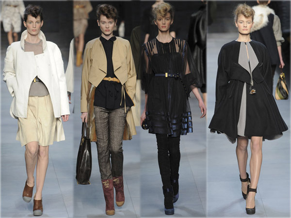 Best of des défilés Fashion Week Hiver 2010. Collection Fendi. Source:http://madame.lefigaro.fr