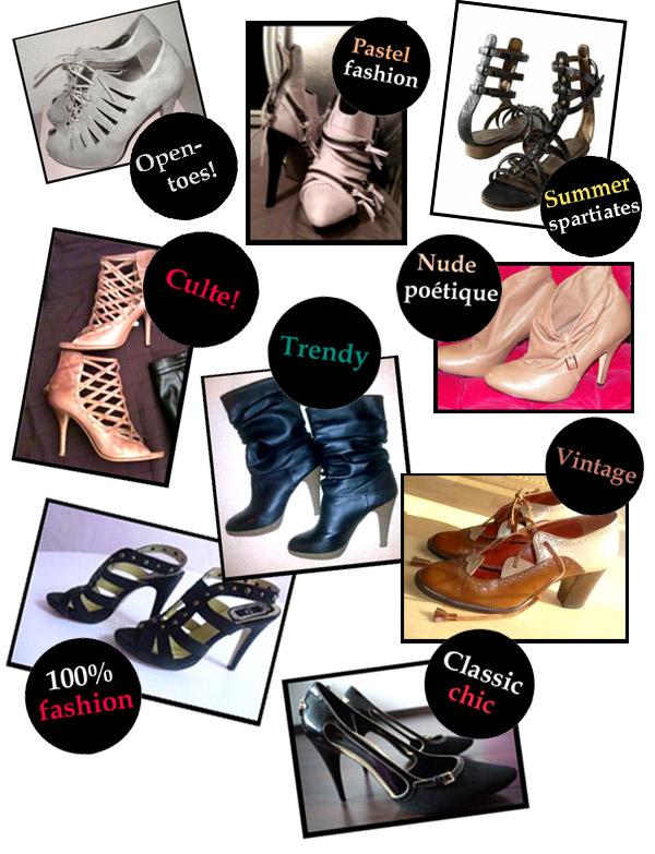 Nos coups de coeur de la boutique: spécial chaussures!
