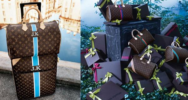 Son sac personnalisé chez Louis Vuitton!