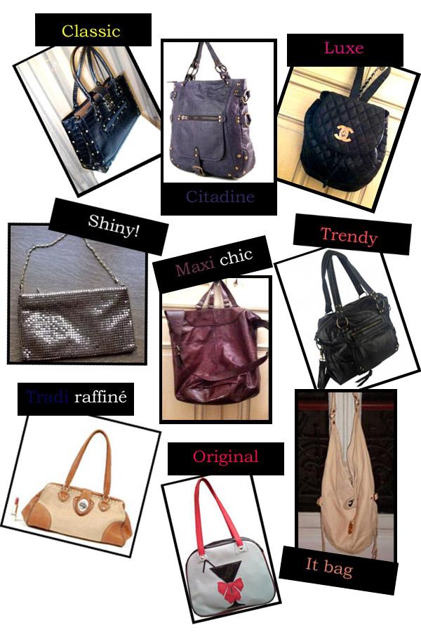 Nos coups de coeur de la boutique: spécial sacs