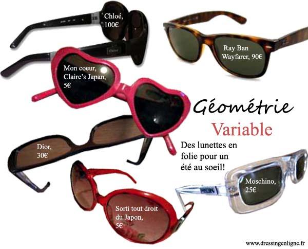 Nos coups de coeur de la boutique:les lunettes de soleil