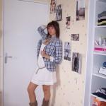 liily: la petite robe blanche