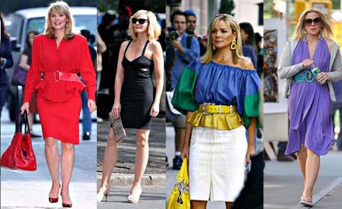 Les looks de Sex and the city