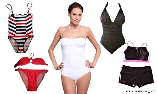 Nos coups de coeur de la boutique: maillots de bain