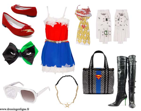 La mode super-héros chez Colette