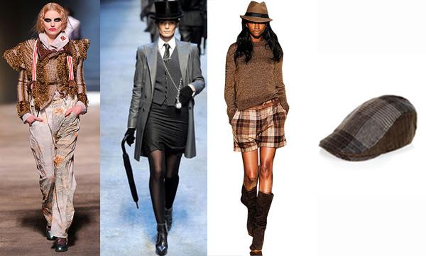 Vivienne Westwood - Hermès - Mango - Zara - Le style masculin-féminin