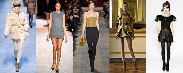 Hermès - Stella Mc Cartney - Akris - Alexander Mc Queen - Anna + Olivia - Quelle hauteur de jupe pour cet hiver?