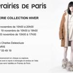 Prairies de Paris du 18 au 20 novembre