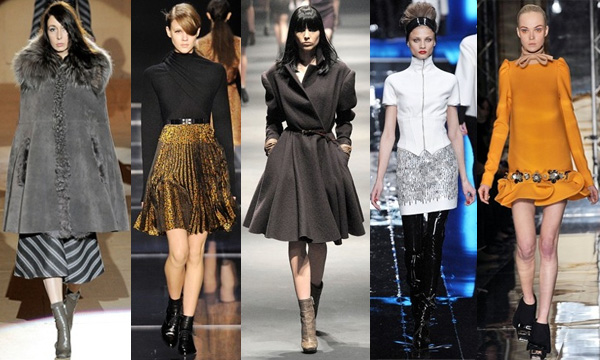 Marc Jacobs - Cacharel - Lanvin - Karl Lagerfeld - Mui Mui - Le style Néo-Rétro