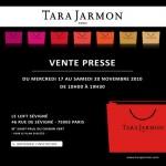 Tara Jarmon du 17 au 20 novembre