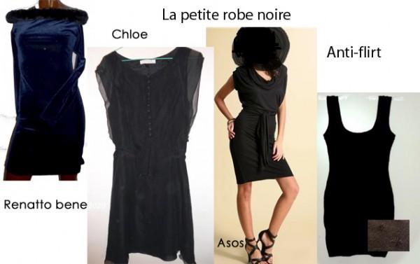 Le noir: un classique dans notre garde robe